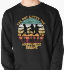 Jonas brothers happiness begins vintage shirt  Pullover Sweatshirt