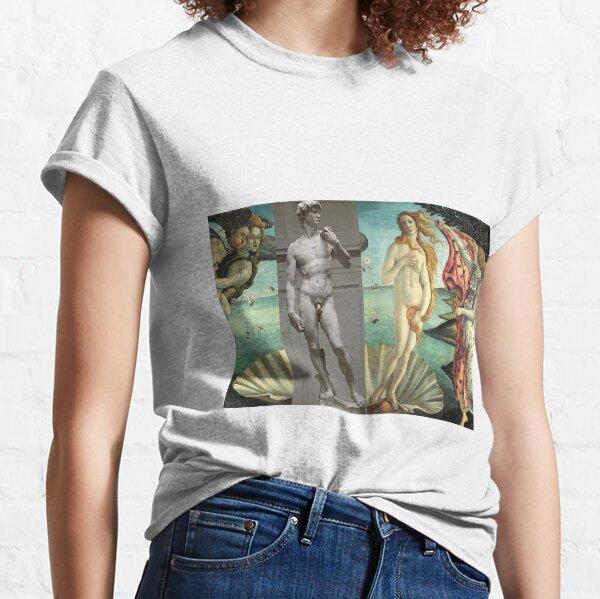 Virtual Date of David and Aphrodite #Virtual #Meeting #David #Aphrodite #date #VirtualDate Classic T-Shirt