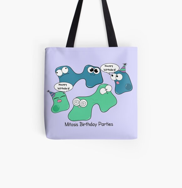 Mitosis Birthday Parties All Over Print Tote Bag