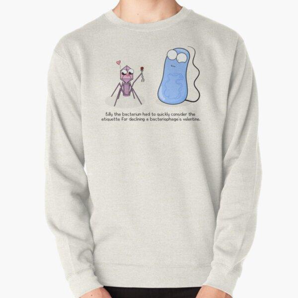 Bacteriophage Valentine Pullover Sweatshirt