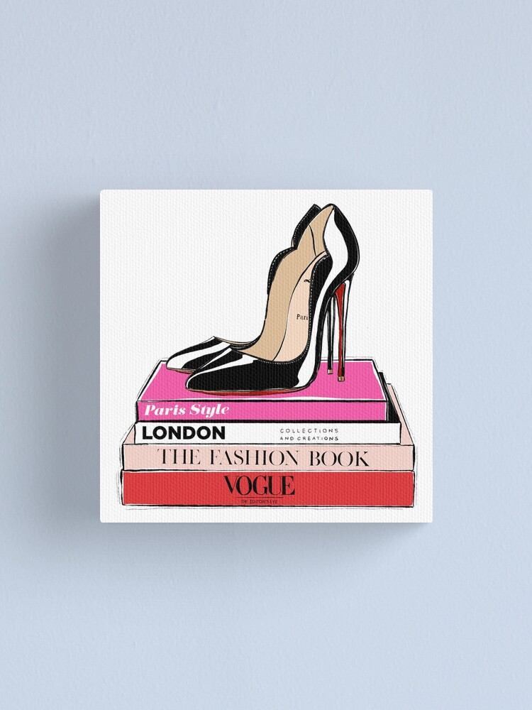 Alternate view of fashion heels canvas Canvas Print