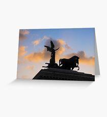 The Quadriga, Victor Emmanuel Monument, Rome, Italy Greeting Card