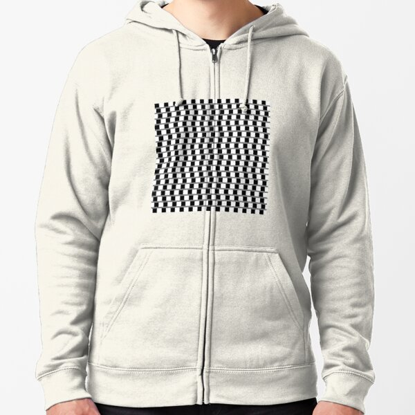 #OpArt, #visual #illusion, #VisualArt, opticalart, opticalillusion, opticalillusionart, opticalartillusion, psyhodelic, psichodelic, psyhodelicart Zipped Hoodie