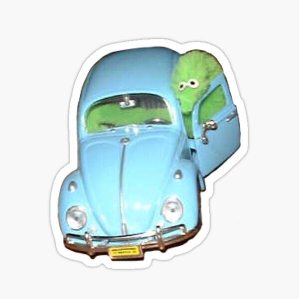 Beep Beep! Worm on a String  Sticker