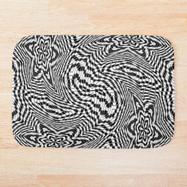 #OpArt, #visual #illusion, #VisualArt, opticalart, opticalillusion, opticalillusionart, opticalartillusion, psyhodelic, psichodelic, psyhodelicart Bath Mat