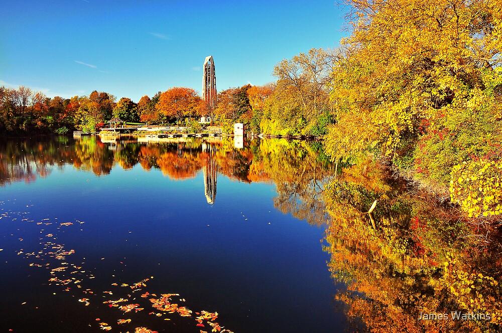 Quarry Lake, Riverwalk Park by James Watkins