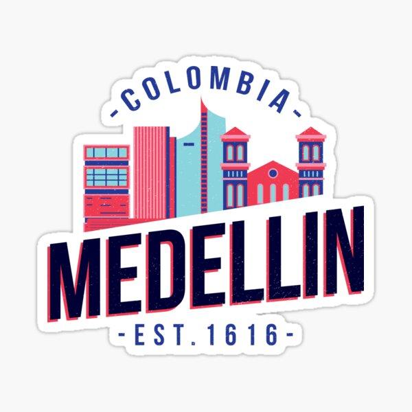 Colombia Medellin Sticker