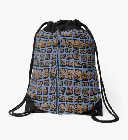 FBeauty Virgo Blues Drawstring Bag
