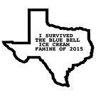 Blue Bell Ice Cream Famine BlueBell Ben and Jerrys Texas Shirt by Jacob King
