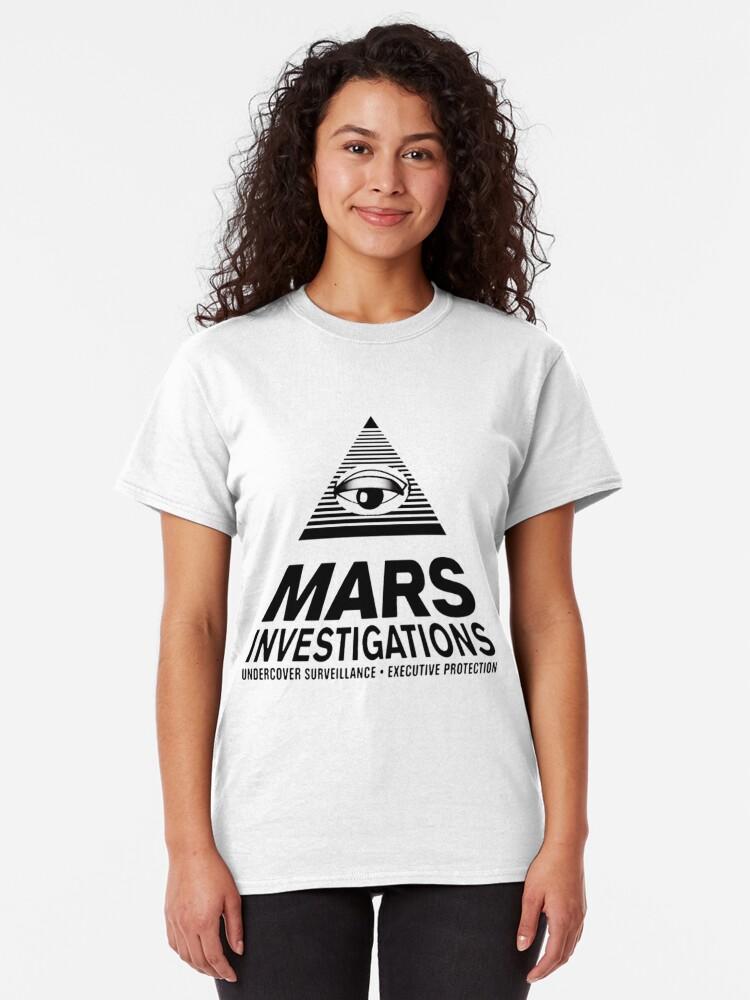 Alternative Ansicht von Marsuntersuchungen - Veronica Mars Classic T-Shirt