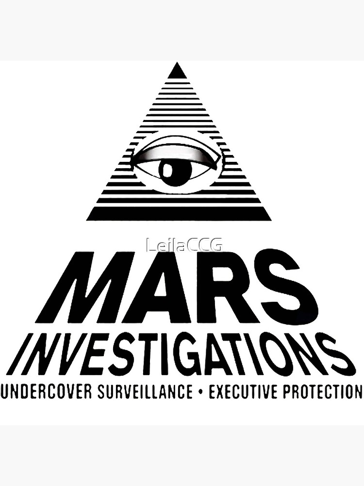Mars Investigations - Veronica Mars by LeilaCCG