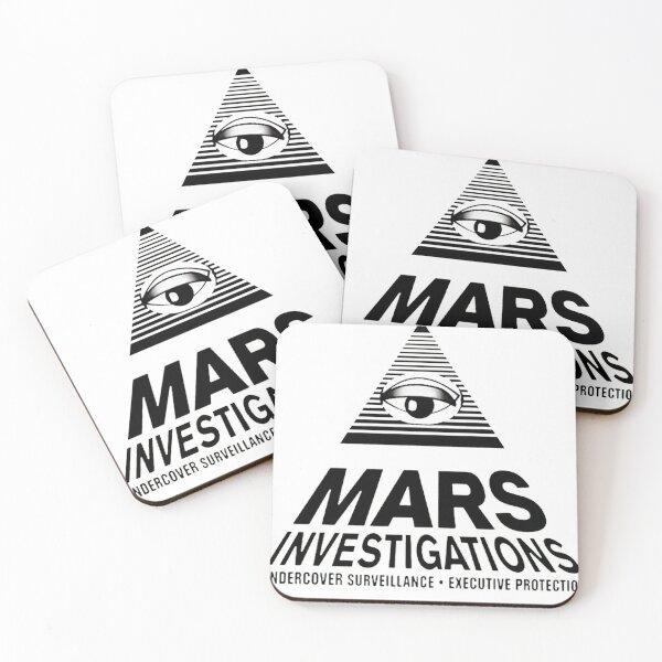 Mars Investigations - Veronica Mars Coasters (Set of 4)