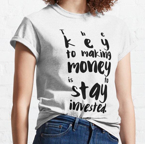 Citation professionnelle de Suze Orman T-shirt classique