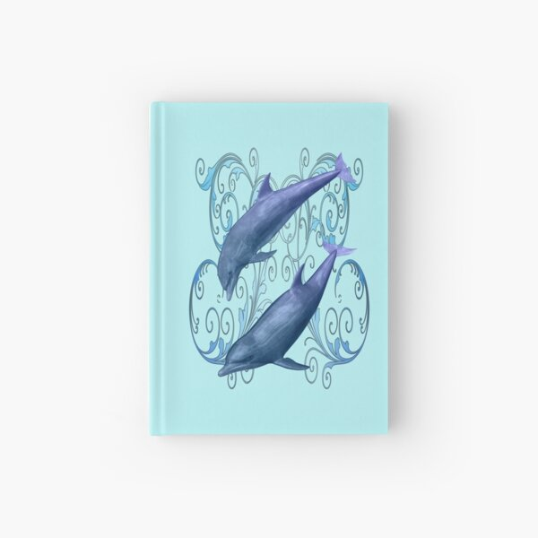 Peace and harmony .. a dolphins tale Hardcover Journal
