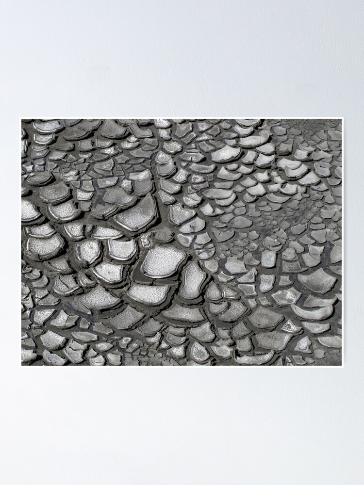 Alternate view of Crack patterns Poster