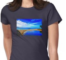 Lovers At Kanaha Beach Womens Fitted T-Shirt