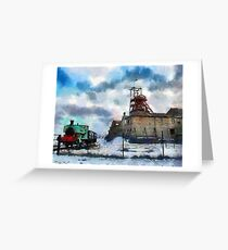 The Big Pit, Blaenavon, Wales Greeting Card