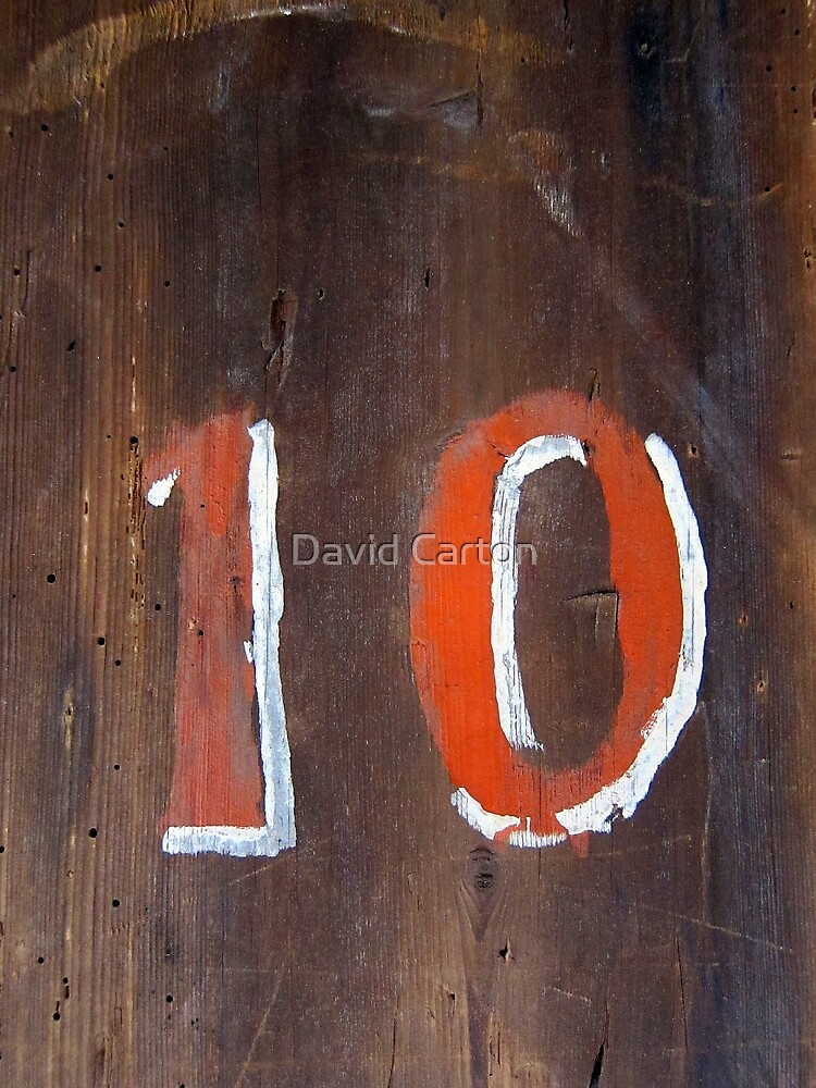 Ten by David Carton