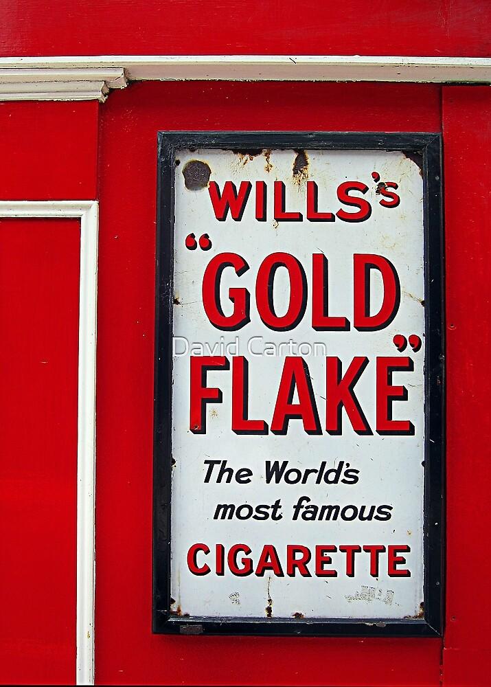 Old advertising board, Wexford, Ireland by David Carton