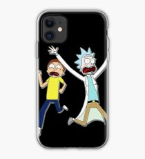 Rick and Morty Running iPhone Case