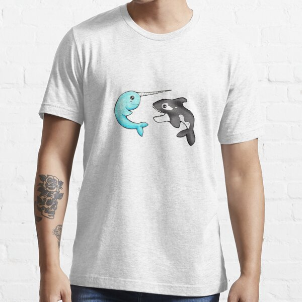 Narwhal and Orca Essential T-Shirt