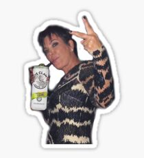 Kris Jenner Whiteclaw Meme Sticker