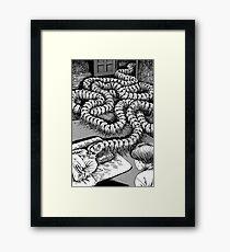 Junji Ito – Gramps Framed Print