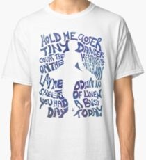 Tiny Dancer in Blue Classic T-Shirt