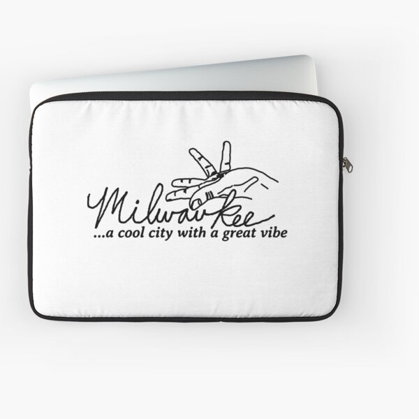 Milwaukee, A cool city with a great vibe Laptop Sleeve