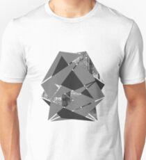 Gewebter Wald Slim Fit T-Shirt