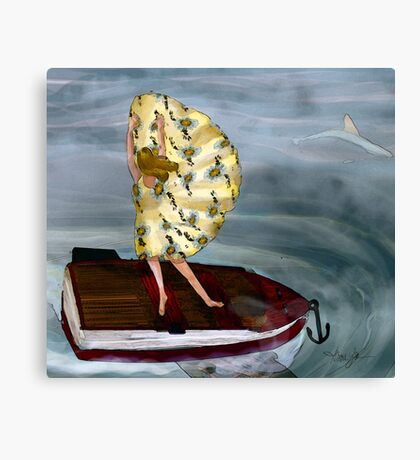 I am Sailing Away Canvas Print