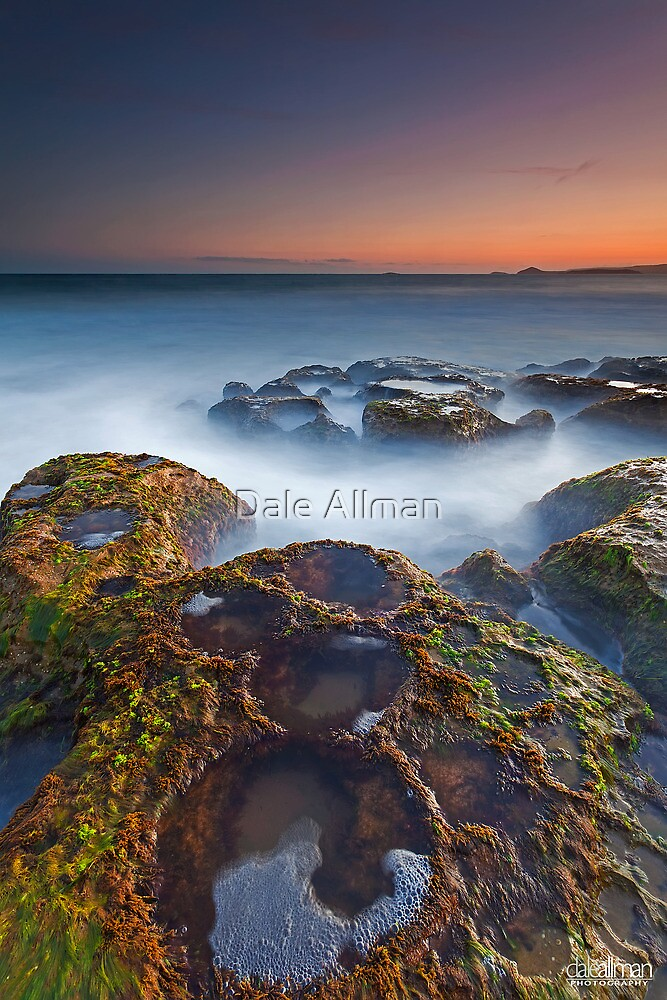 Craters at Boomer Beach by Dale Allman