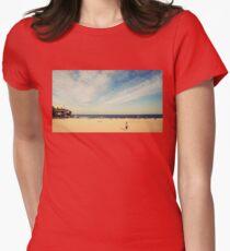Tamarama Beach Womens Fitted T-Shirt