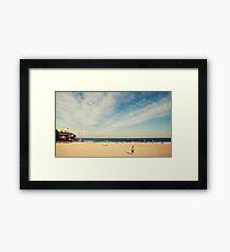 Tamarama Beach Framed Print