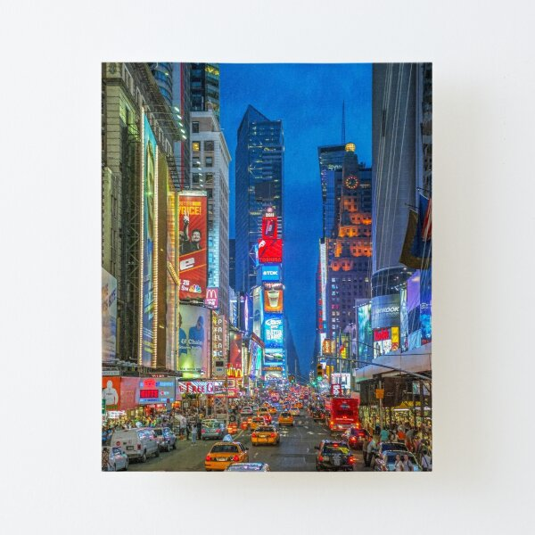 Times Square (Broadway) Canvas Mounted Print
