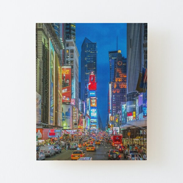 Times Square (Broadway) Wood Mounted Print