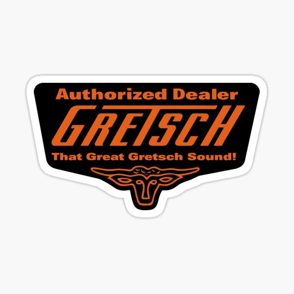 Guitares Gretsch Sticker