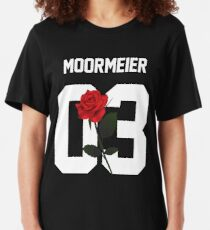 Payton Moormeier - Rose Slim Fit T-Shirt