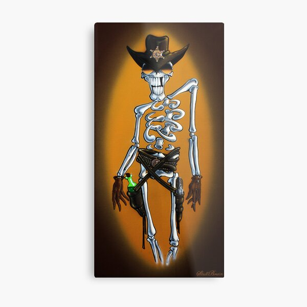 Keep your hands where I can see 'em Metal Print