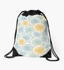 Citrus Medley Drawstring Bag