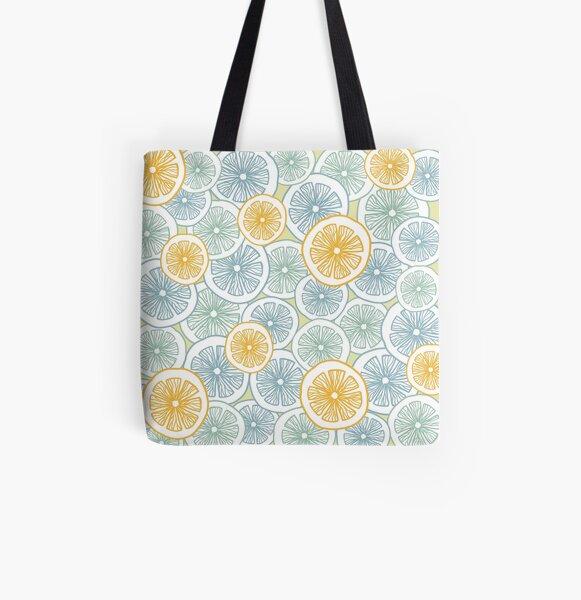 Citrus Medley All Over Print Tote Bag