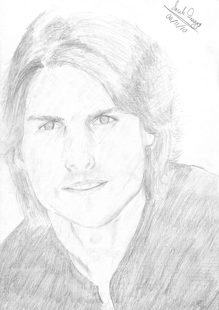 Tom Cruise portrait by dream-catcher