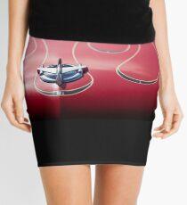 Red Flames Mini Skirt