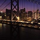 The Bridge in San Francisco, California  by Meigel Art