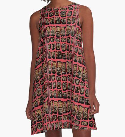 FBeauty Sagittarius A-Line Dress