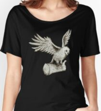 Owl Takes Off Women's Relaxed Fit T-Shirt