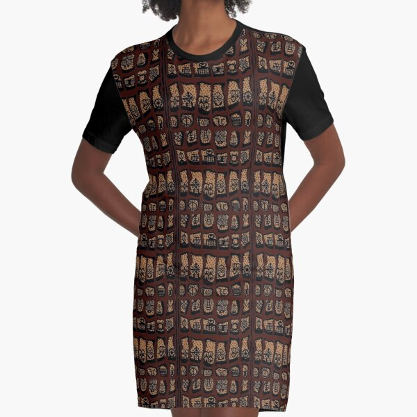 FBeauty Cancer Graphic T-Shirt Dress