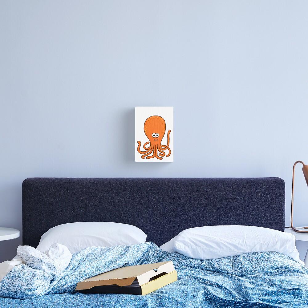 Phil the Kraken Canvas Print