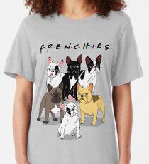FRANZÖSISCHE Slim Fit T-Shirt