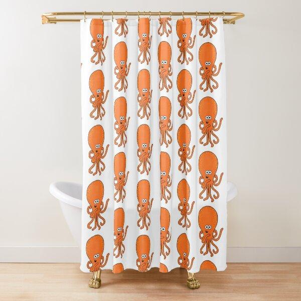 Phil the Kraken 2 Shower Curtain